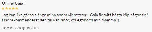 Velve Gaia Uppladdningsbar G-Punktsvibrator Review